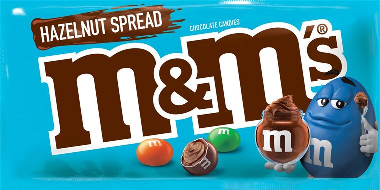 Nutella M&Ms are coming April of 2019 and I'm More Excited than a kid on Christmas.