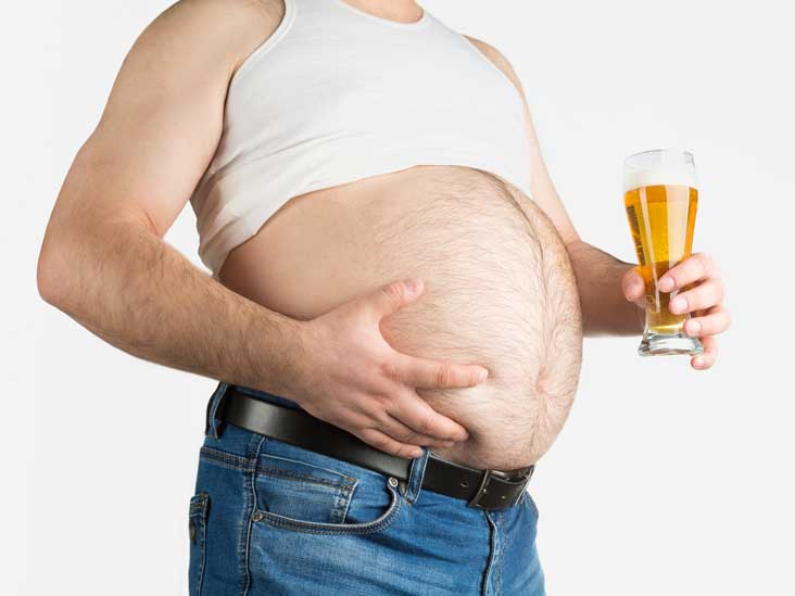 "According to ""Research"", Beer Bellies And Muffin Tops Cause Brain Shrinkage"
