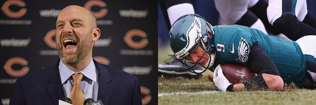 Matt Nagy is The Bears Secret Weapon Against Nick Foles