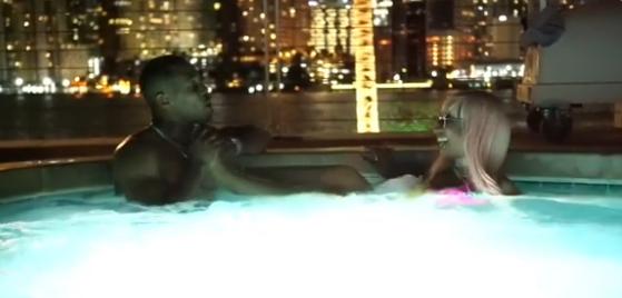 Nicki Miniaj And Her New Boyfriend IG A Weird Soft-core Porn Type Of Video