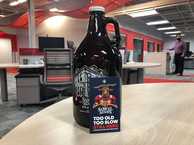 Sam Adams is Dropping an Exclusive Patriots-Themed IPA on Thursday
