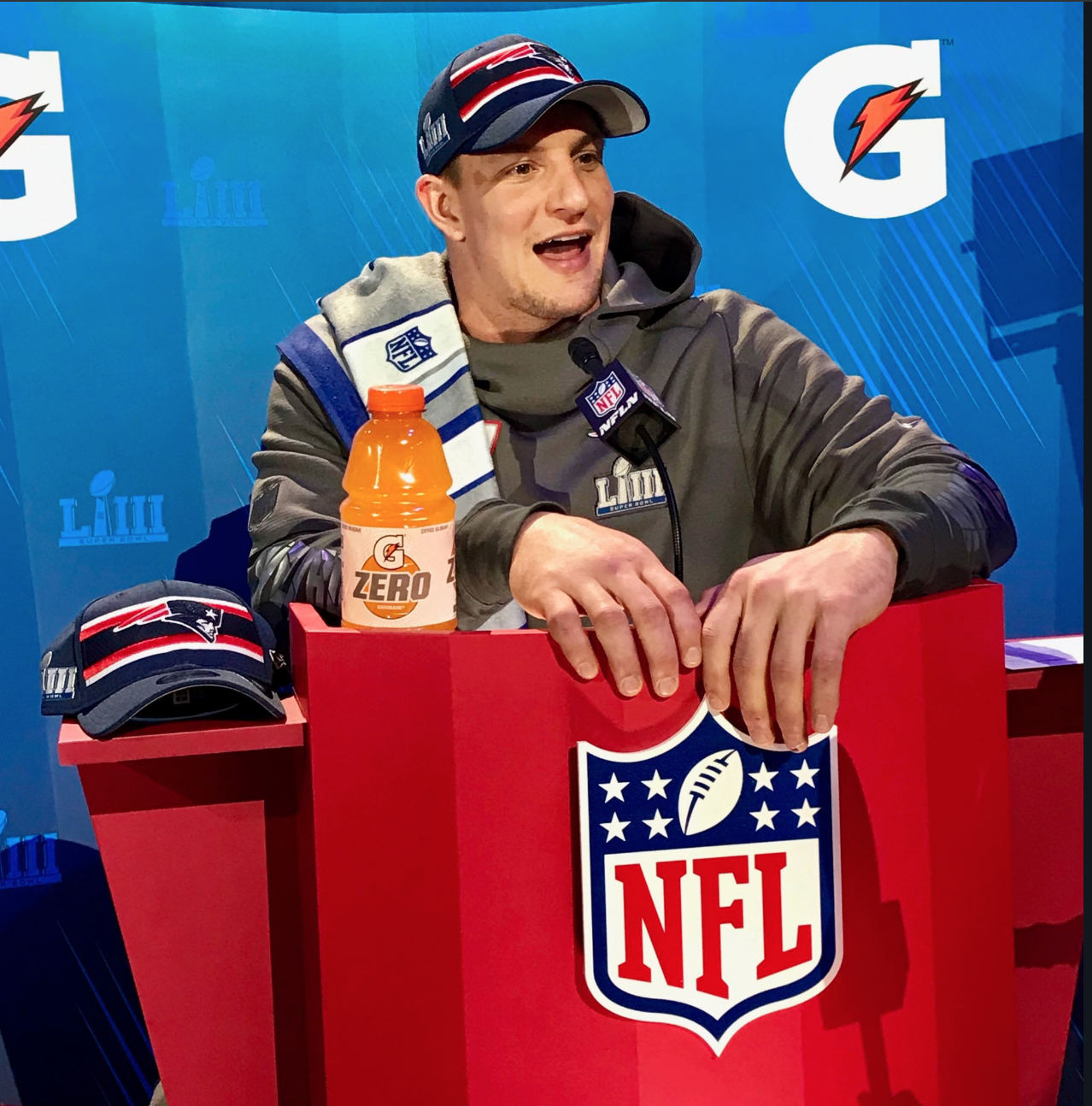 The Only Clips From Super Bowl Media Day Worth Watching