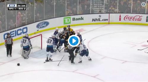 Bruins Rookie Kicks Some Ass in Tough Loss to Winnipeg