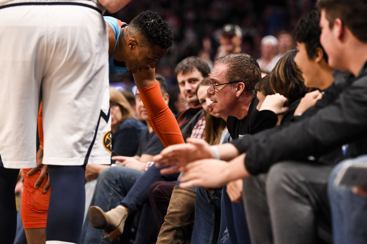 Thoughts and Prayers for Russell Westbrook