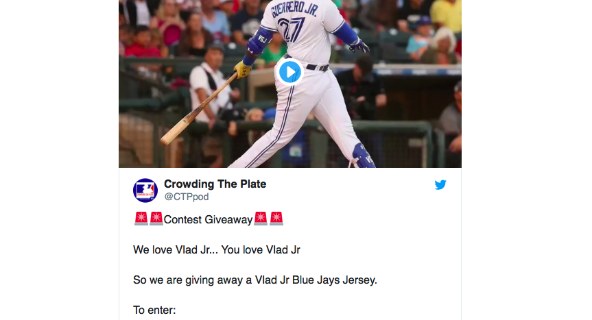 CONTEST ALERT! How You Can Win a New Vlad Jr. Jersey