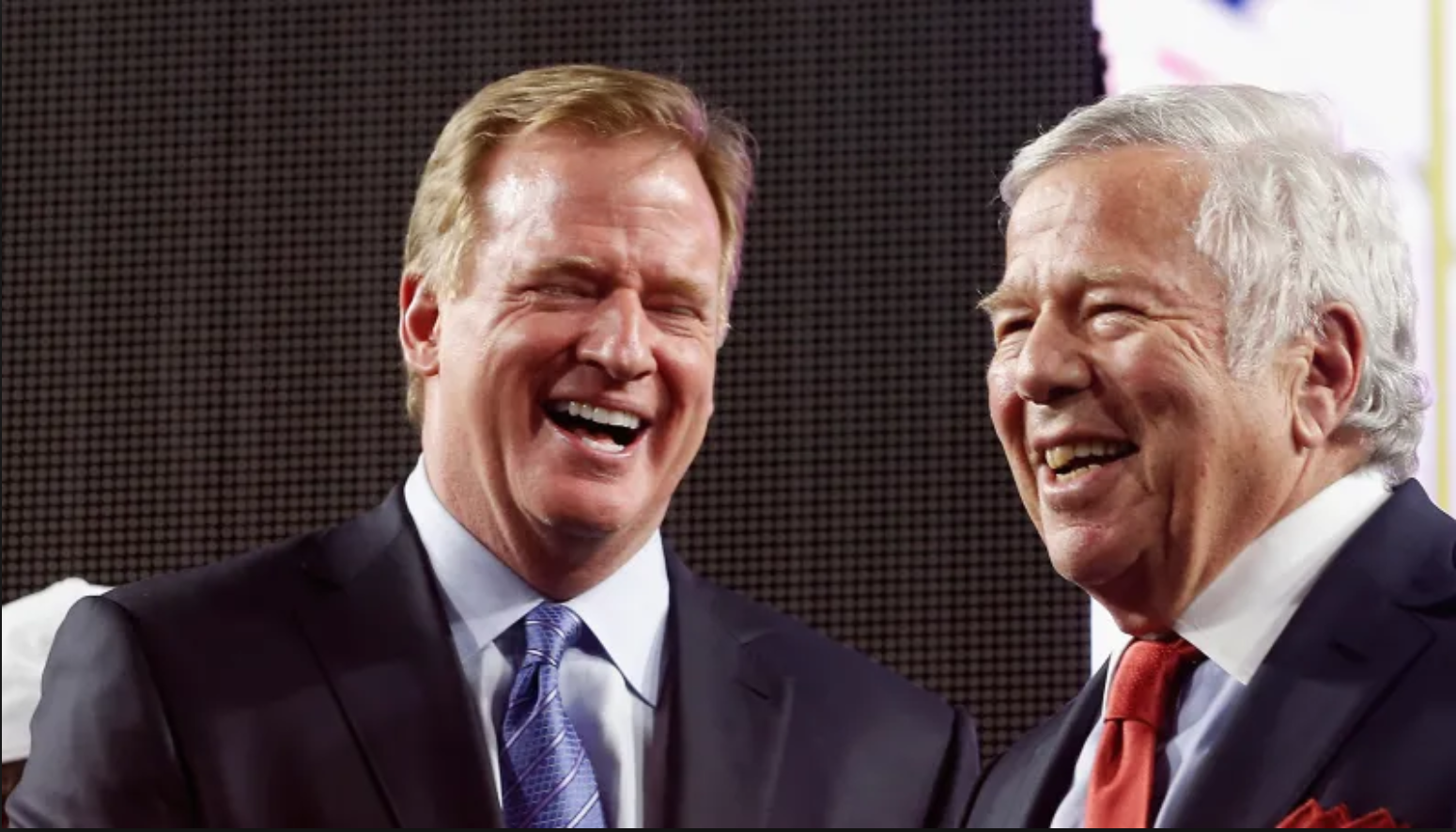 This Robert Kraft News Has Roger Goodell's Clown Hands All Over It