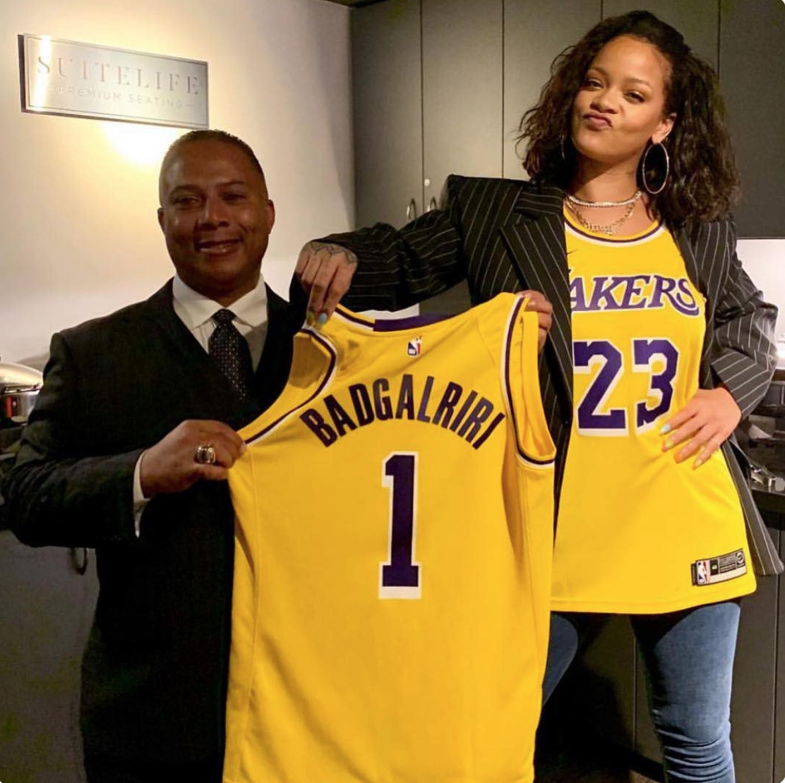 Rihanna Has Activated The Lakers Playoff Mode