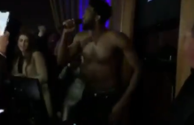 Embiid Did Shirtless Karaoke And We're All For It