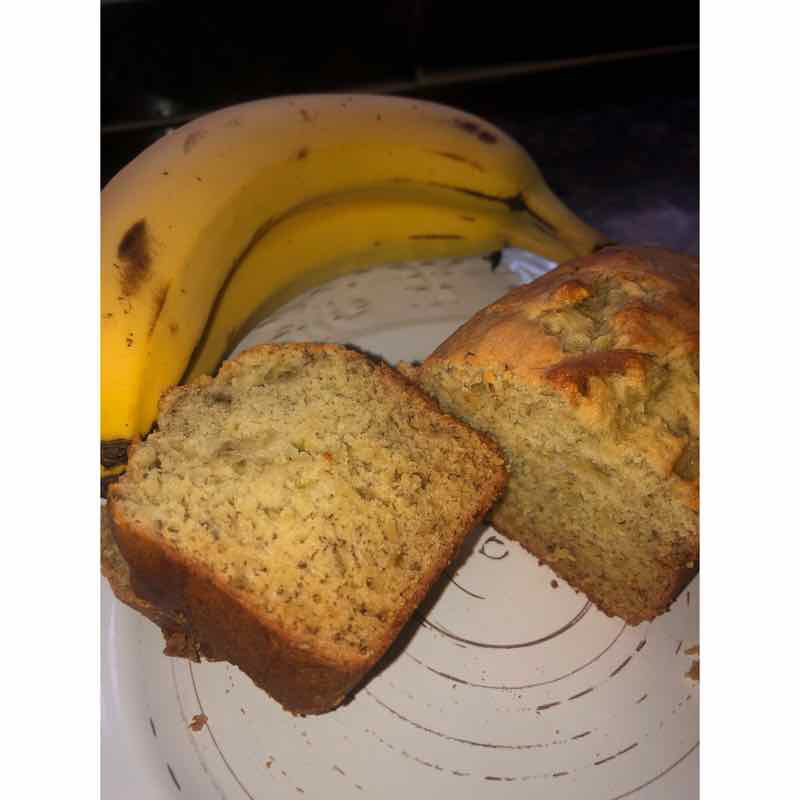 Murt's Man Bait-Easy Banana Bread (step by step pictures inside)