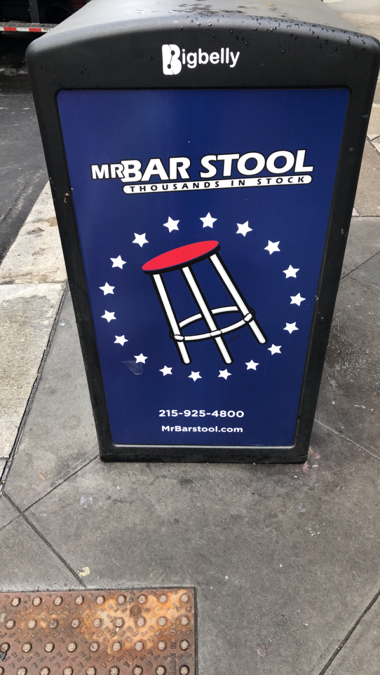 Did Barstool Steal Mr. Bar Stool's Logo?