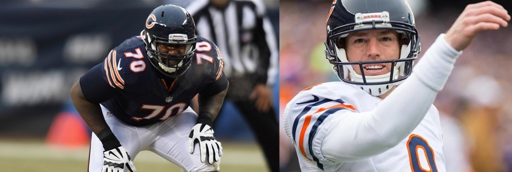 Bobby Massie Clearly Wants Robbie Gould To Come Back To The Bears