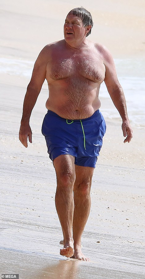 NSFW: These Photos Of Bill Belichick On The Beach May Be Too Hot For The Internet