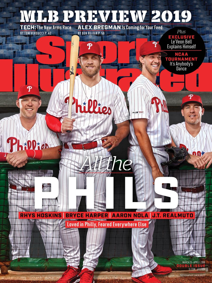 New Sports Illustrated Cover With Phillies Is Breathtaking