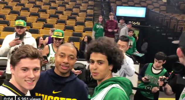 "Isaiah Thomas to Celtics Fan: ""I'll be Back"""