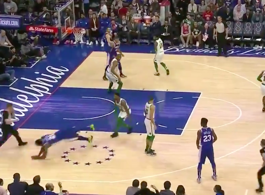 Smart Sends Embiid Flying in Tough Loss to Refs (and Sixers I guess)