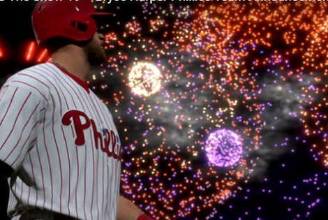 The Bryce Harper MLB The Show 19 Cover Reveal