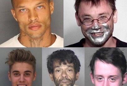 Mugshot Monday:  Real Life Joker