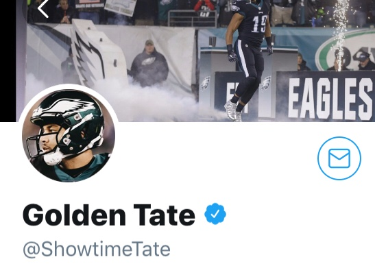 Golden Tate Late Night Twitter Flirting With The Steelers
