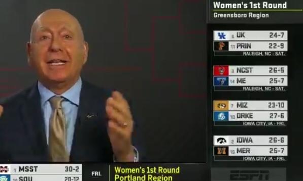 Conspiracy Around ESPN Releasing The Women's NCAA Bracket Last Night