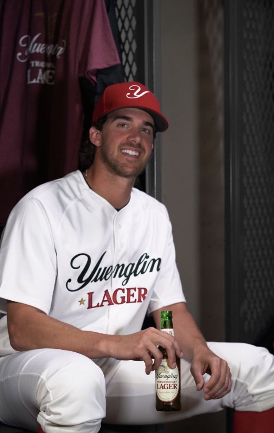 Aaron Nola Signs An Endorsement Deal With Yuengling
