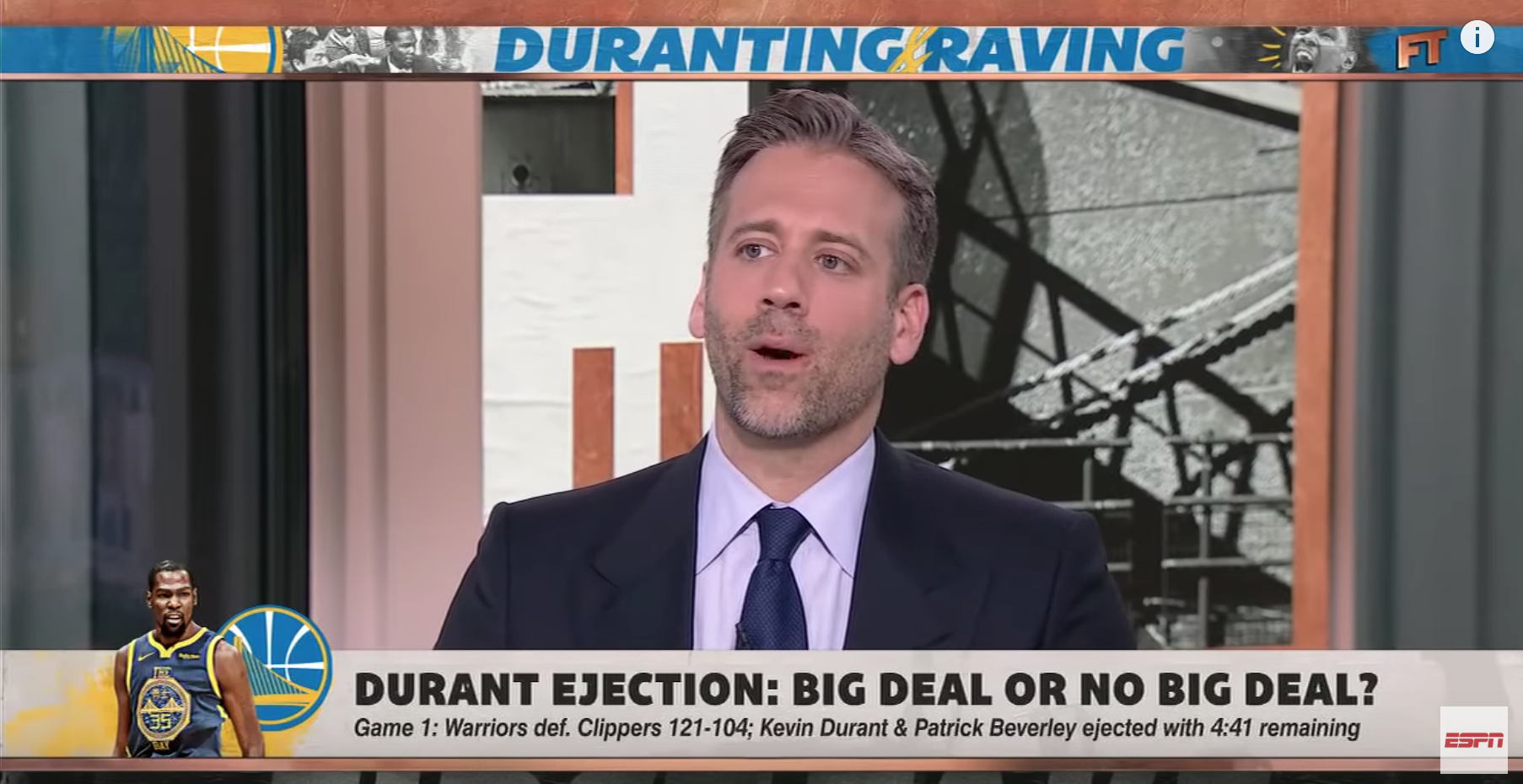 Max Kellerman Is Denying The Vicious Rumors That He Farted 7 Times During First Take