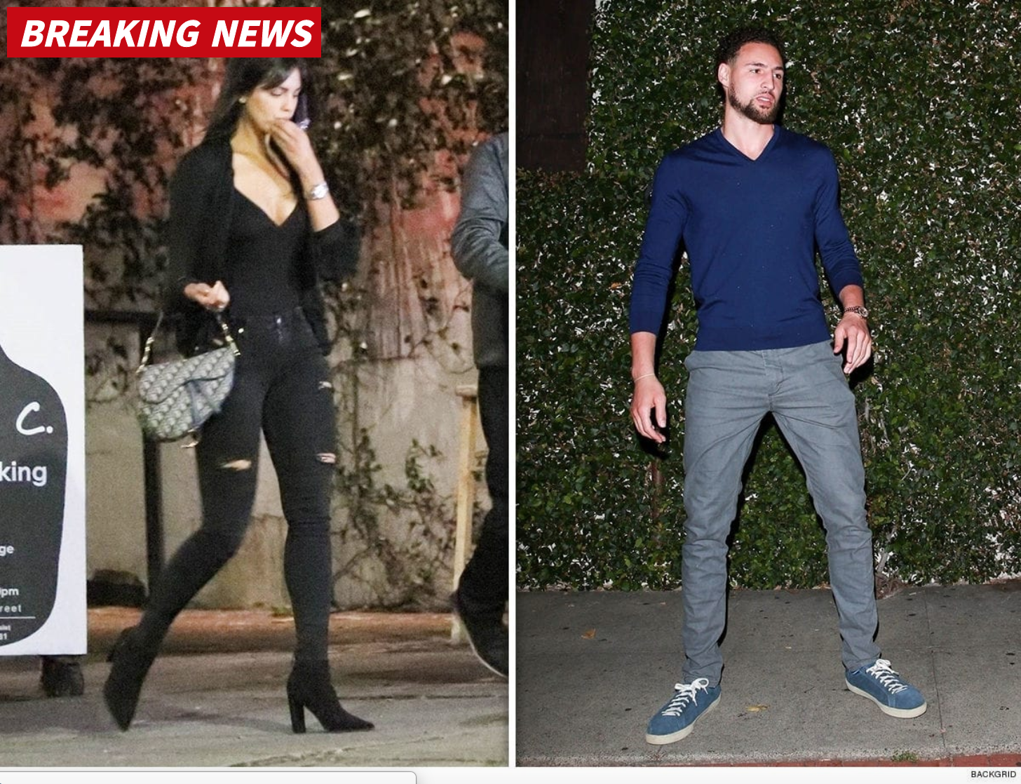 Klay Thompson Must Have Some Real BDE, Spotted Out On A Date With One Of The Hottest Women Ever