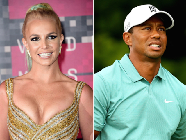 Is Tiger Woods Actually Britney Spears…?
