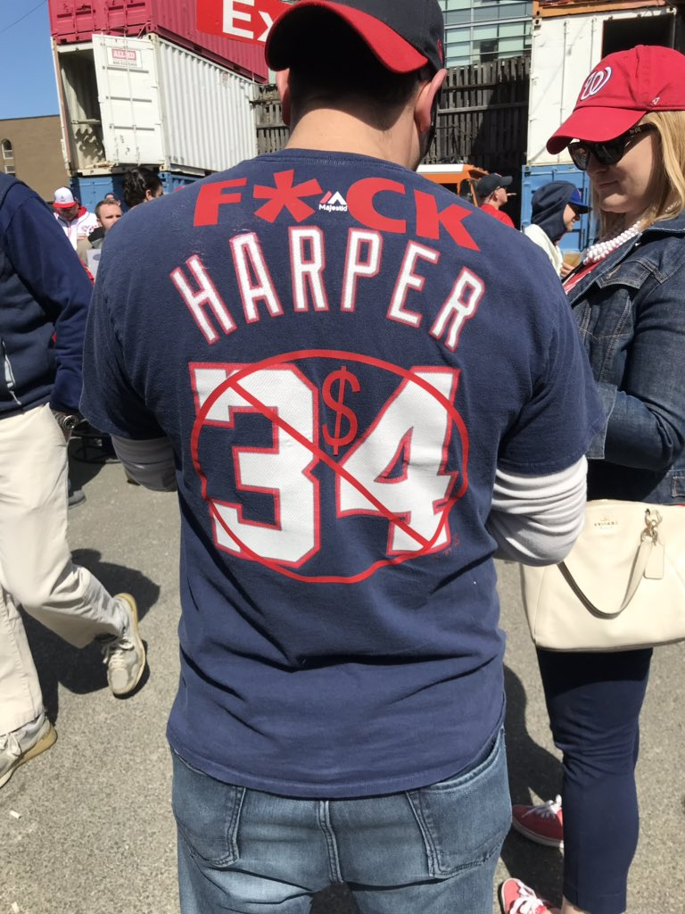 D.C. Mayor Calls Bryce Harper A Traitor