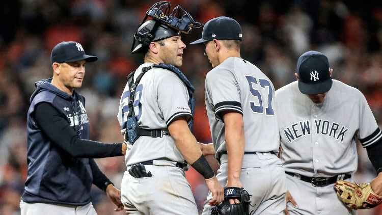 Yankees Pen blow two in a row!