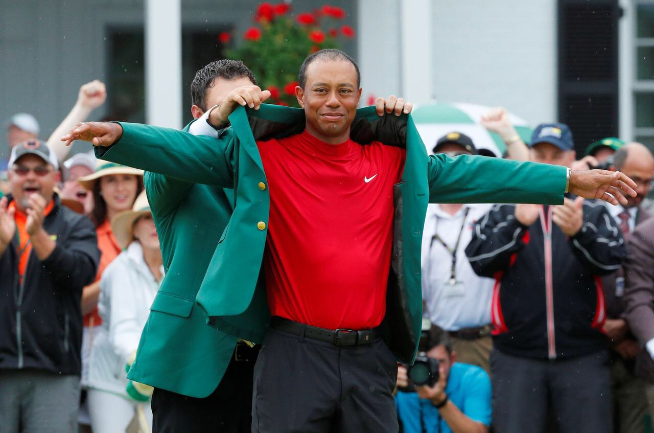 Tiger Woods Masterful Once More.