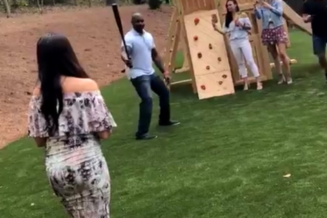 Ryan Howard With A Gender Reveal Bomb