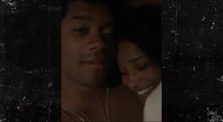 Russell Wilson And Ciara Celebrate New Deal With Bizarre Video In Bed