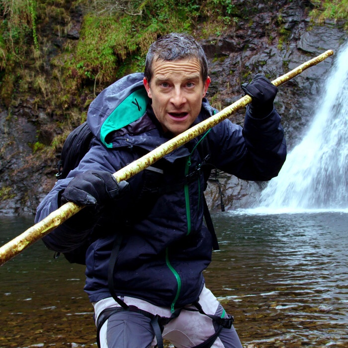Be Bear Grylls