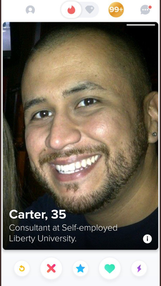 George Zimmerman Banned From Tinder/Bumble