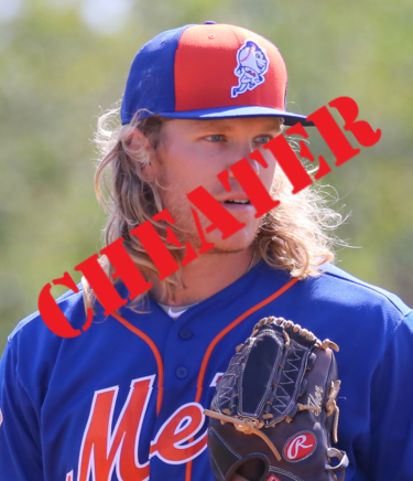 So We're Just Going to Act Like Noah Syndergaard Isn't a Big Fat Cheater?