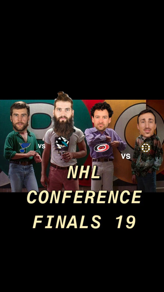 NHL Conference Final Time Baby