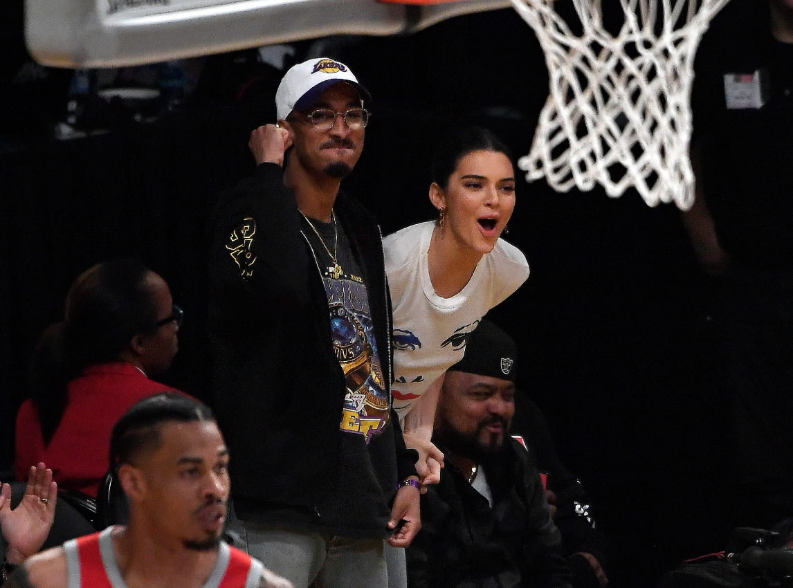 Was Kendall Jenner Watching And Cheering For Ben Simmons As He Got His Heart Broken In Game 7?