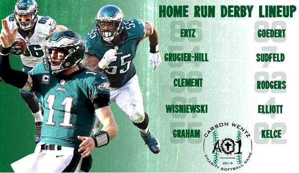 We're Handicapping Carson Wentz' AO1 Home Run Derby