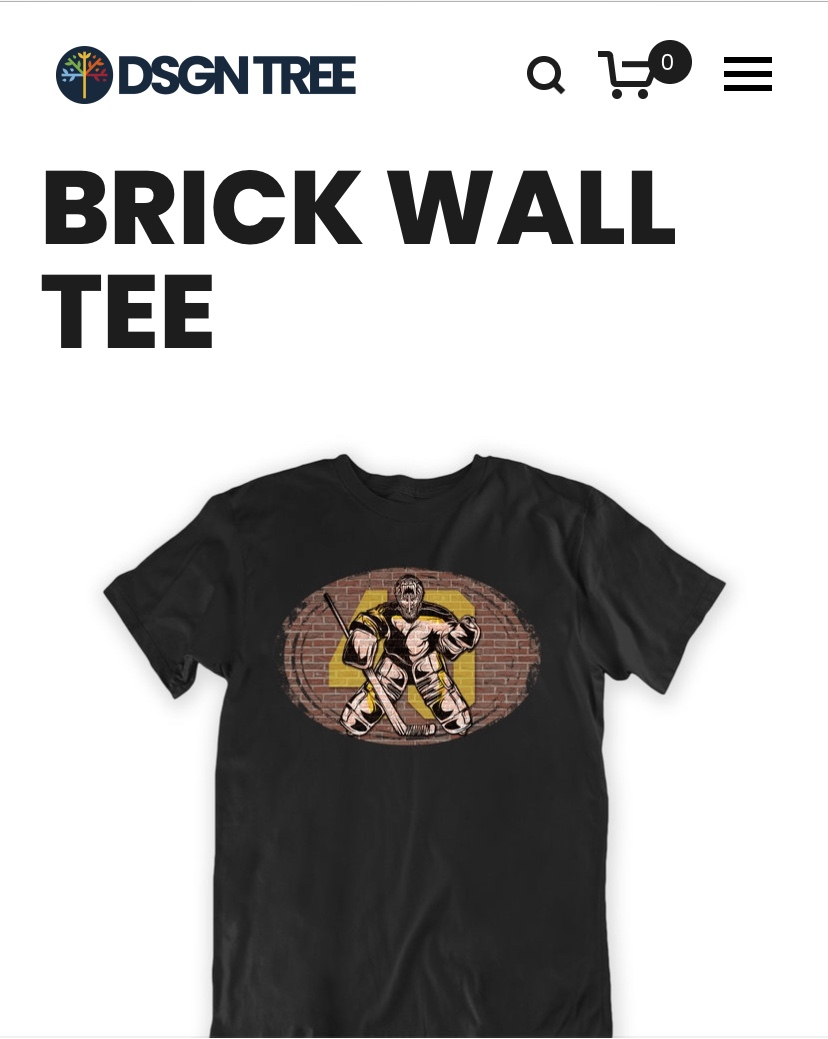 """Tuukka """"Brick Wall"""" Shirts are in and as Elite as the Goalie Himself"""