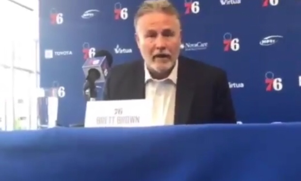 Brett Brown Emasculating Howard Eskin Is The Best Thing You'll See Today