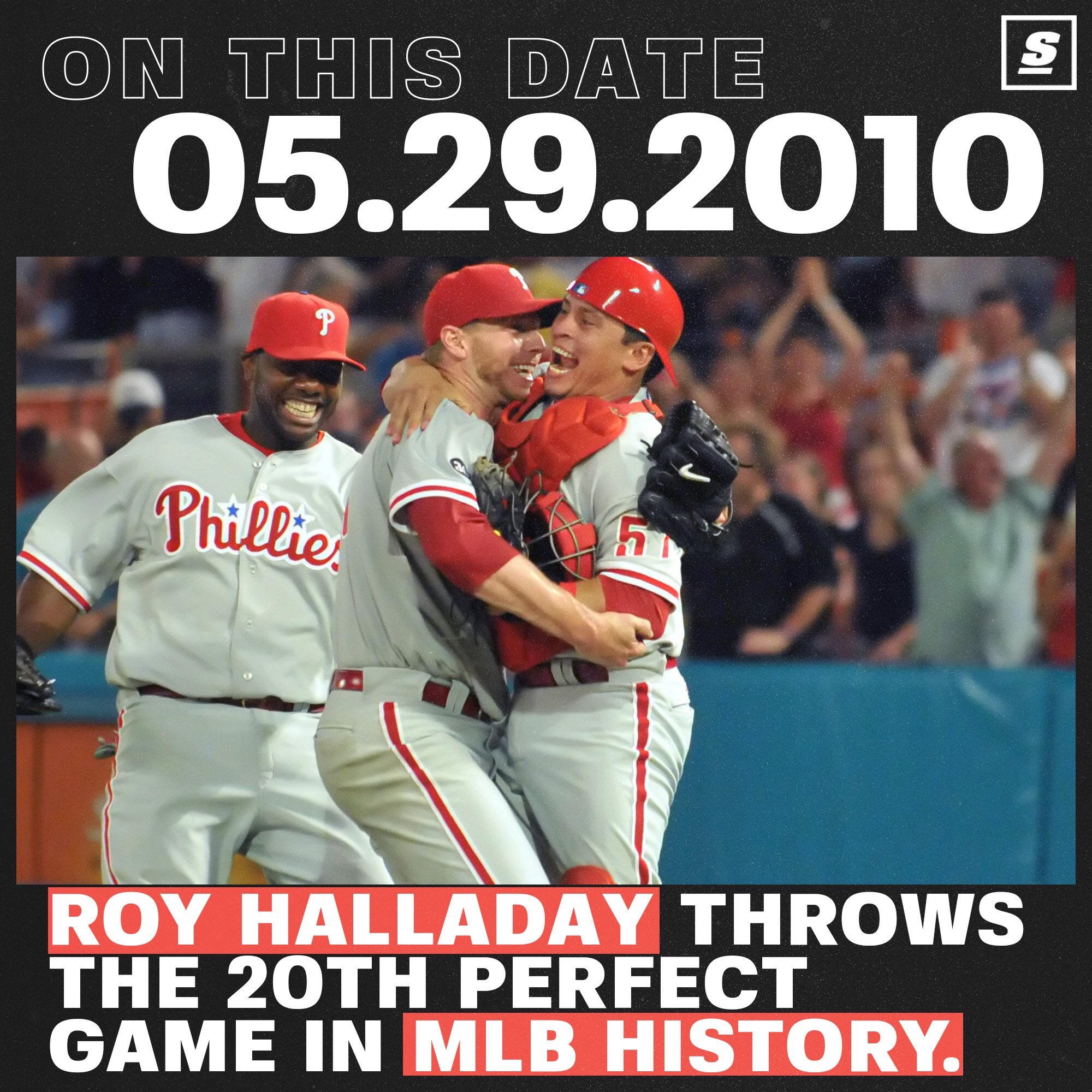 9 Years Ago Today, Roy Halladay's Perfect Game