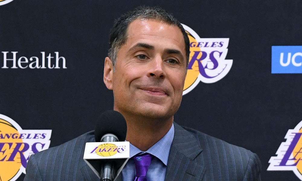 Rob Pelinka was such a good agent he could get his client a meeting with a dead guy…