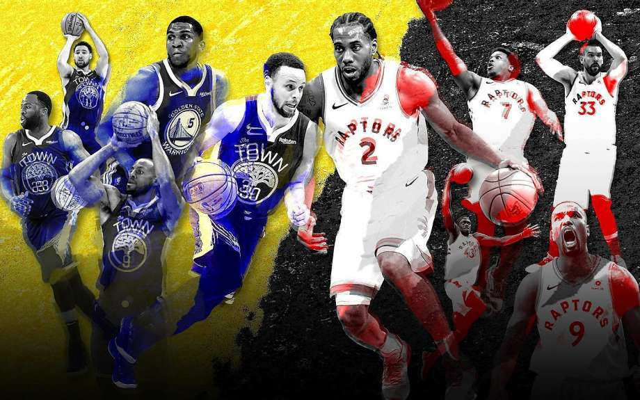 NBA Finals: Warriors vs. Raptors Series by the Numbers