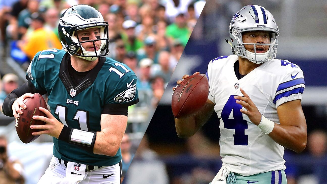 Will Dak outdo Wentz?