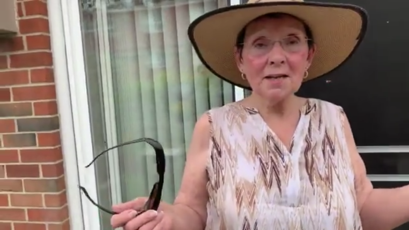 73 Year Old Grandmother takes on a Cobra in PA!