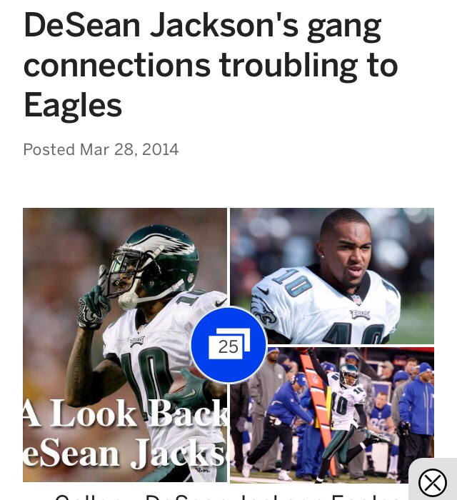 Eagles Should Take ESP's Press Pass