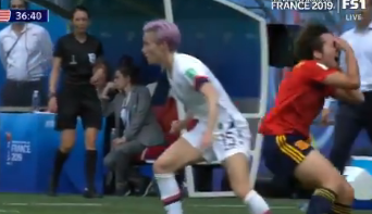 Spanish Player Has Her Eyes Violently Ripped Out Of Her Head Mid Game….Or Something Like That