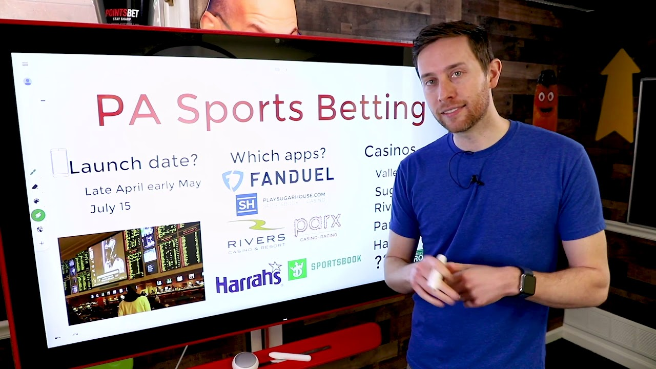 PA Online Sports Betting Is Live! Here's What's Out There And What's Next