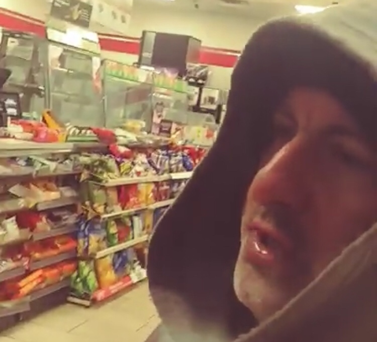 Bagel Guy Has Another Video Of Him Going Nuts In A 7/11