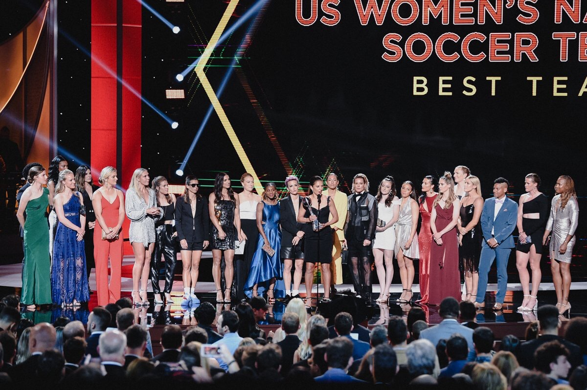 ICYMI… There Was A USWNT Nip Slip At The ESPYS Last Night